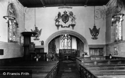 Coxwold, St Michael's Church, Interior c.1960