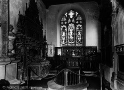 Coxwold, The Church, Interior c.1960