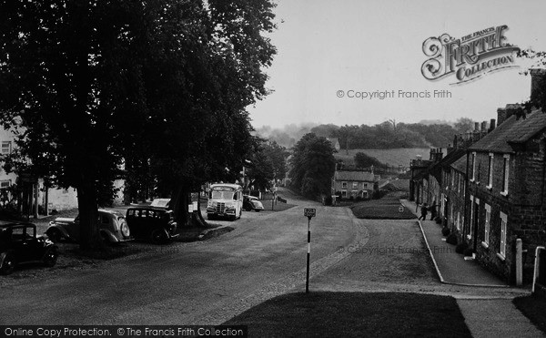 Photo of Coxwold, The Village c.1950