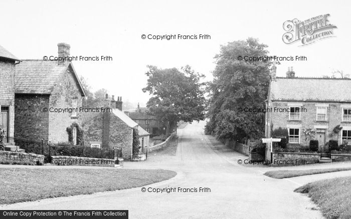Photo of Coxwold, The Village c.1950
