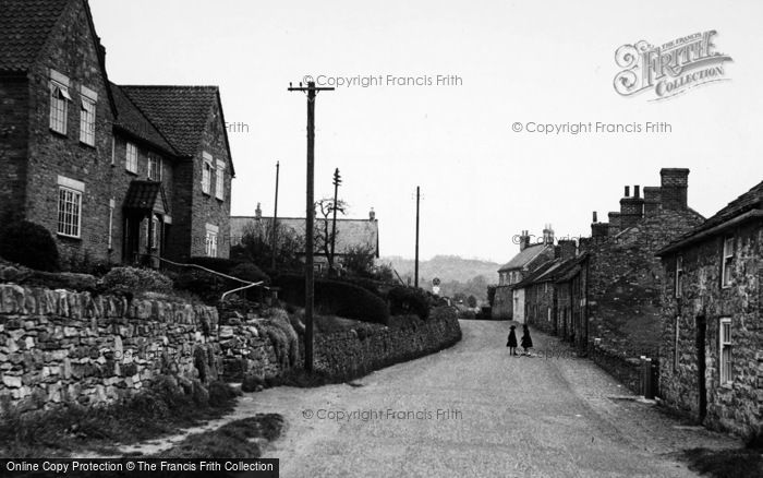 Photo of Coxwold, The Village c.1955