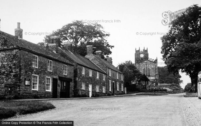 Photo of Coxwold, Village And St Michael's Church c.1950