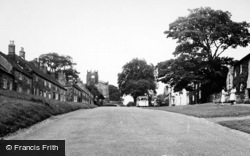Coxwold, Village And St Michael's Church c.1950