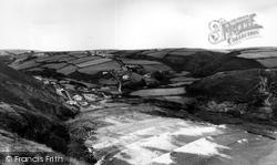 Crackington Haven, From Pencannow 1957