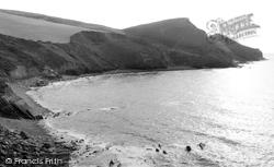 General View 1957, Crackington Haven