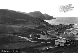 Looking South 1920, Crackington Haven