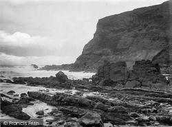 Pencannow Point 1920, Crackington Haven