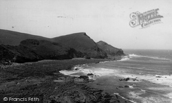 The Coast From The Cliffs 1951, Crackington Haven