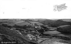 Crackington Haven, The Village 1957