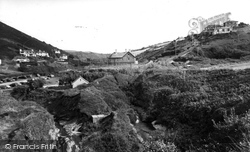 Crackington Haven, The Village 1958