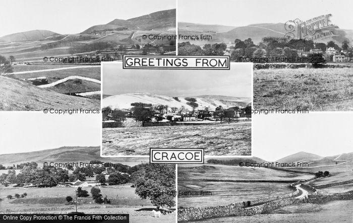 Photo of Cracoe, Composite c.1965