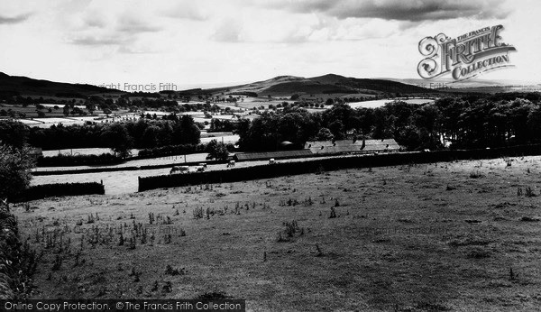 Photo of Cracoe, Sharpshaw From Sunhill c.1965