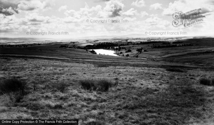 Photo of Cracoe, Winterburn Reservoir And Pendle Hill c.1965