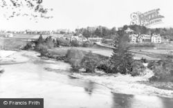 Craigellachie, From Telford's Bridge c.1900