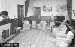 Craigmore, 'glendermott', The Lounge c.1955