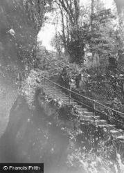 Craigmore, 'glendermott', The Rockery Steps c.1955