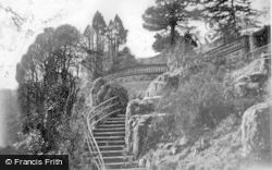 Craigmore, 'glendermott', The Top Of Rockery Steps c.1955