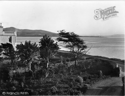 Craigmore, Rothesay Bay From 'glendermott' c.1955
