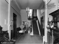 Craigmore, The Entrance Hall, 'glendermott' c.1955