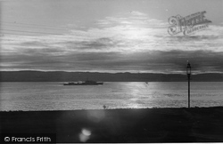 Craigmore, The Sunrise From 'glendermott' c.1955