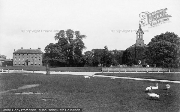 Photo of Crakehall, Hall And St Gregory's Church 1900
