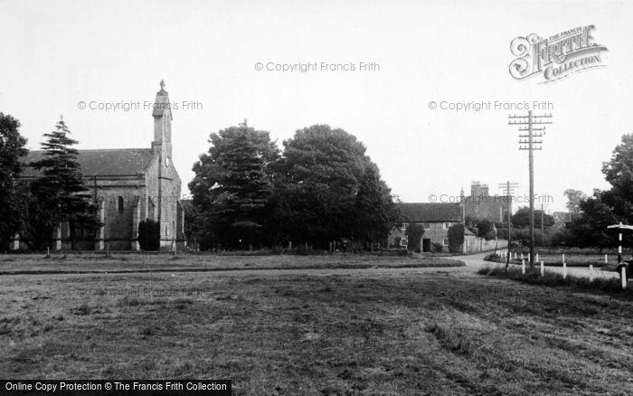 Photo of Crakehall, St Gregory's Church c.1960