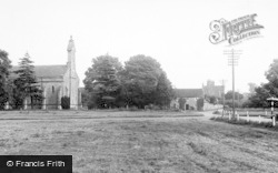 Crakehall, St Gregory's Church c.1960