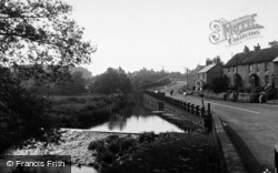 Crakehall, The Beck c.1960