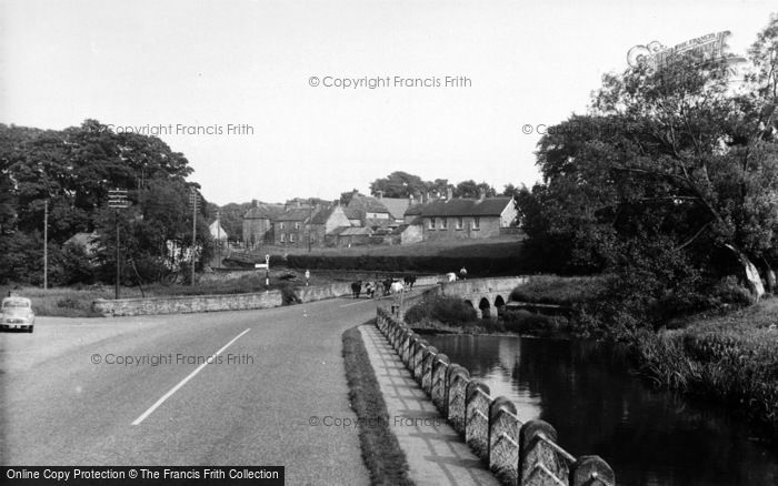 Photo of Crakehall, The Bridge c.1960