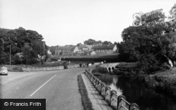 Crakehall, The Bridge c.1960