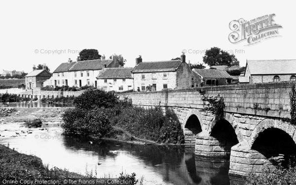 Photo of Crakehall, The Village 1900