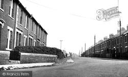 Cramlington, Station Road c.1955