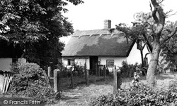 Cranage, Old Cottage c.1955