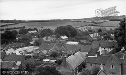 Cranborne, From The Church Tower 1954