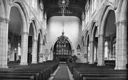 Cranbrook, Church Interior 1925
