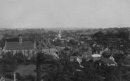 Cranbrook, From Church 1908