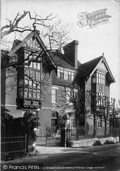 Cranbrook, Grammar School Lodge 1901