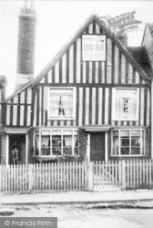 Cranbrook, High Street, Old Cottage 1903