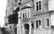 Cranbrook, Market Place And Memorial 1908
