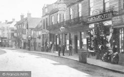 Cranbrook, Shops, Stone Street 1902