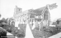 Cranbrook, St Dunstan's Church 1901