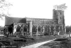 Cranbrook, St Dunstan's Church 1901