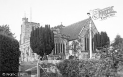Cranbrook, St Dunstan's Church c.1955
