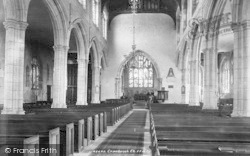 Cranbrook, St Dunstan's Church Interior 1901