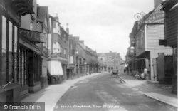 Cranbrook, Stone Street 1901