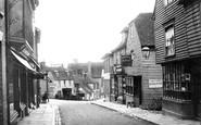 Cranbrook, Stone Street 1903