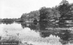 Cranbrook, The Mill Pond 1906