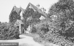 Cranbrook, The Vicarage 1906