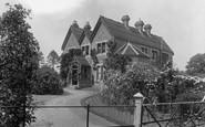 Cranbrook, The Vicarage 1925