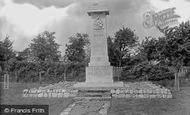 Cranbrook, The War Memorial 1925
